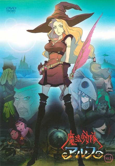 Keita Amemiya, Studio 4°C, Mahou Shoujo Tai Alice, DVD Cover