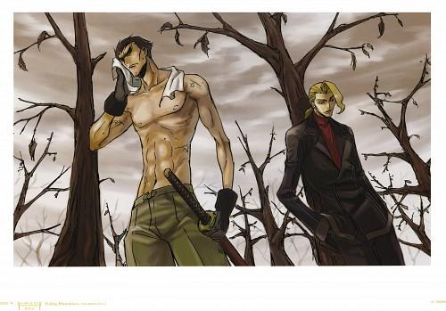 RICCA, Takahiro Kimura, Sunrise (Studio), Lelouch of the Rebellion, Code Geass Ilustrations Rebels