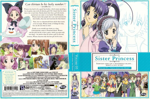 Naoto Tenhiro, Sister Princess, Haruka (Sister Princess), Kaho, Yotsuba (Sister Princess)