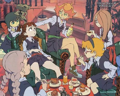 Trigger (Studio), Little Witch Academia, Lotte Yansson, Sucy Manbavaran, Atsuko Kagari