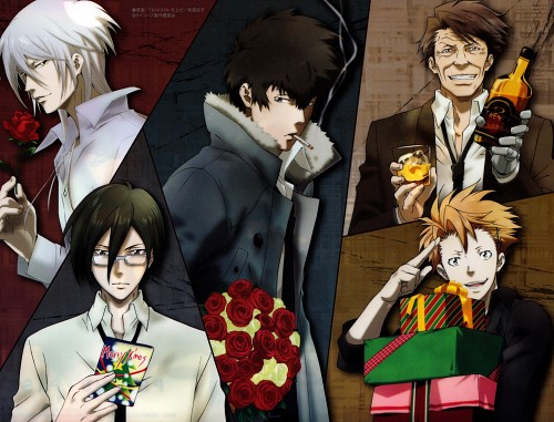 Production I.G, PSYCHO-PASS, Shougo Makishima, Shinya Kougami, Masaoka Tomomi