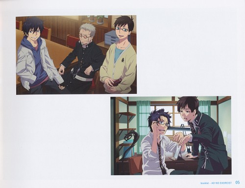 Yukie Sakou, A-1 Pictures, Ao no Exorcist, Shirou Fujimoto, Yukio Okumura