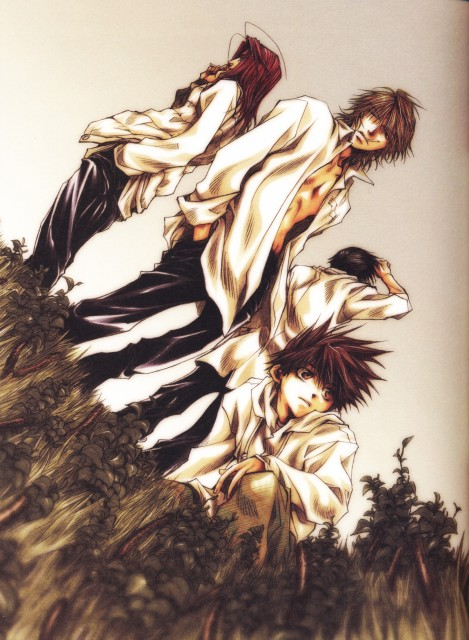 Kazuya Minekura, Studio Pierrot, Saiyuki, Salty Dog V, Genjyo Sanzo