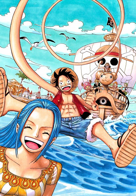 Eiichiro Oda, Toei Animation, One Piece, Color Walk 5 - Shark, Going Merry