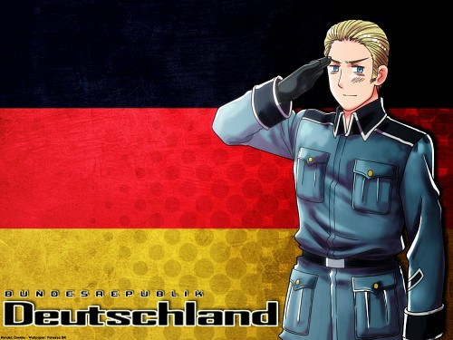Hidekaz Himaruya, Studio DEEN, Hetalia: Axis Powers, Germany Wallpaper