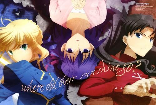 Miyuki Ishizuka, Ufotable, TYPE-MOON, Fate/stay night, Saber