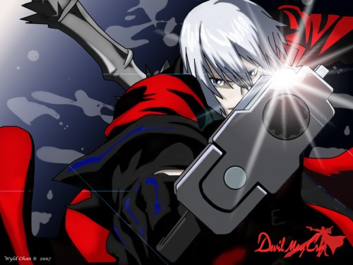 Capcom, Madhouse, Devil May Cry, Dante Wallpaper