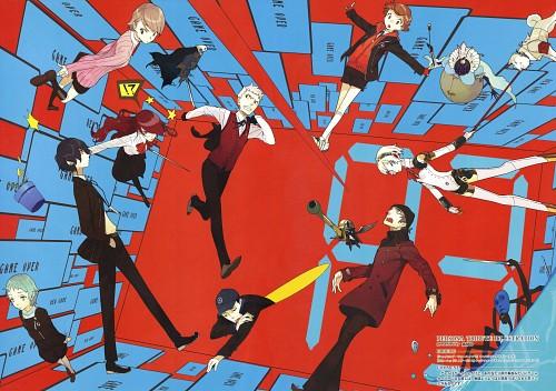 pako, Atlus, Shin Megami Tensei: Persona 3, Shinjirou Aragaki, Ken Amada
