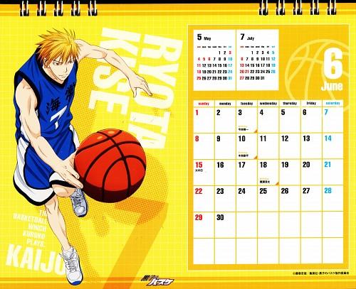 Tadatoshi Fujimaki, Production I.G, Kuroko no Basket, Kuroko No Basket Calendar 2014, Ryouta Kise