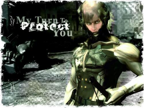 Konami, Metal Gear Solid, Raiden Wallpaper