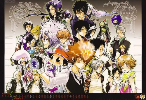 Akira Amano, Katekyo Hitman Reborn!, Superbi Squalo, Leon (Katekyo Hitman Reborn!), Irie Shoichi