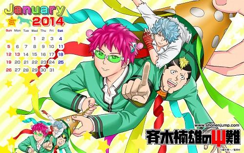 Shuuichi Asou, Saiki Kusuo no PSI Nan, Saiki Kusuo, Official Wallpaper