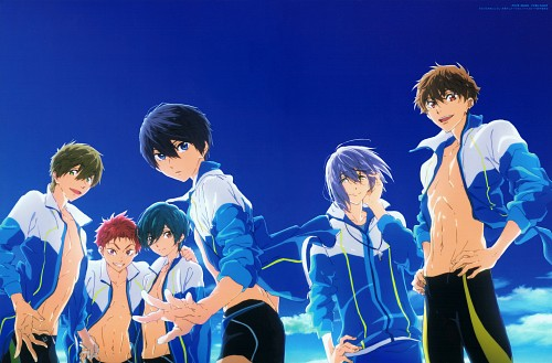 Futoshi Nishiya, Kyoto Animation, Free!, Nao Serizawa, Ikuya Kirishima