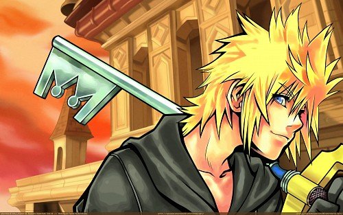 Square Enix, Kingdom Hearts, Roxas, Vector Art Wallpaper