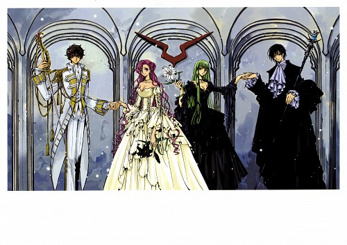 CLAMP, Sunrise (Studio), Lelouch of the Rebellion, Mutuality: Clamp Works in Code Geass, Euphemia Li Britannia