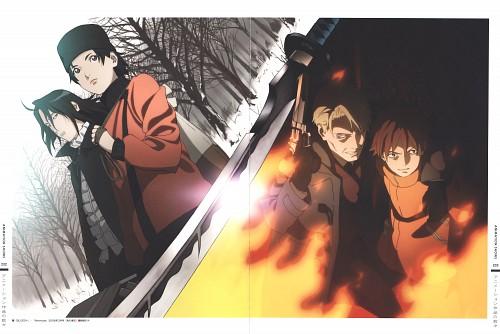 Production I.G, Blood+, The Art of Tetsuya Nishio: Full Spectrum, Saya Otonashi, David
