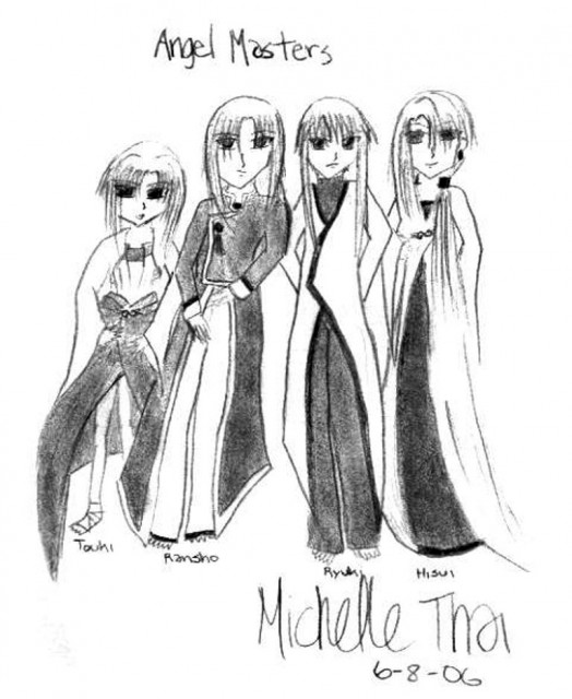 CLAMP, Wish, Ryuuki, Hisui (Wish), Toki (Wish)