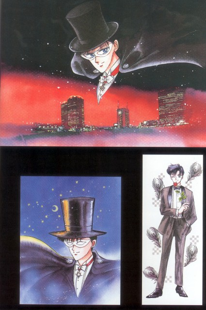 Naoko Takeuchi, Bishoujo Senshi Sailor Moon, BSSM Original Picture Collection Vol. I, Tuxedo Kamen
