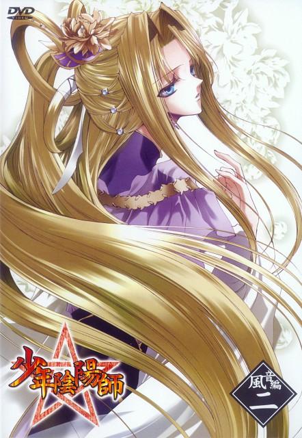 Sakura Asagi, Studio DEEN, Shounen Onmyouji, Tenitsu, DVD Cover