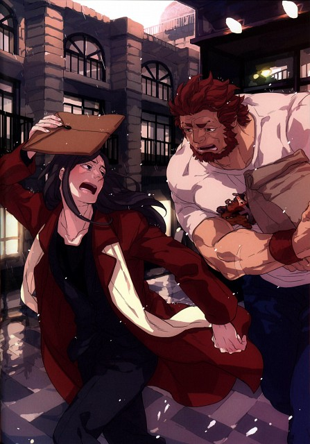 Emilio, Fate/Zero, Scene - Fate/Zero Unofficial Fan Book, Rider (Fate/Zero), Waver Velvet