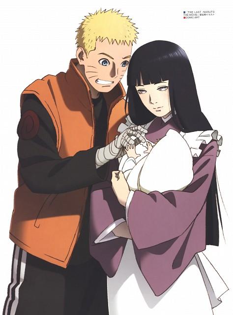 Naruto, The Art of Tetsuya Nishio: Full Spectrum, Naruto Uzumaki, Hinata Hyuuga, Bolt Uzumaki