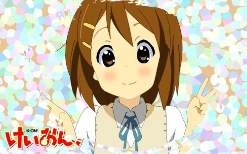 Kakifly, Kyoto Animation, K-On!, Yui Hirasawa Wallpaper