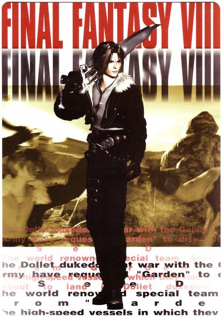 Square Enix, Final Fantasy VIII, Squall Leonhart