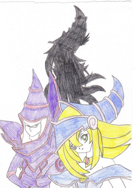 Yu-Gi-Oh Duel Monsters, Dark Magician Girl, Dark Magician
