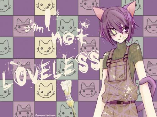 Yun Kouga, Loveless, Ritsuka Aoyagi Wallpaper