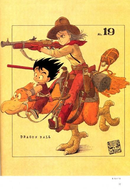 Akira Toriyama, Dragon Ball, Kid Goku, Bulma