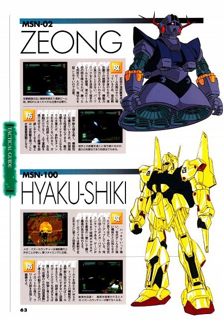 Sunrise (Studio), Mobile Suit Gundam - Universal Century, Mobile Suit Zeta Gundam