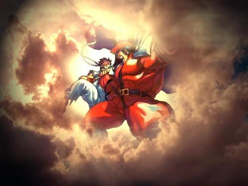 Capcom, Street Fighter, Ryu, M. Bison Wallpaper