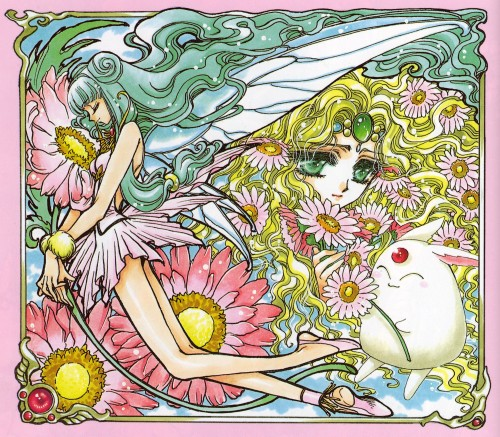 CLAMP, Magic Knight Rayearth, Magic Knight Rayearth 2 Illustrations Collection, Emeraude, Primera