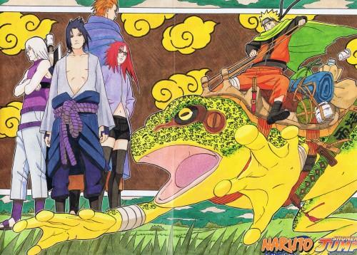 Masashi Kishimoto, Naruto, Karin (Naruto), Naruto Uzumaki, Suigetsu Hozuki