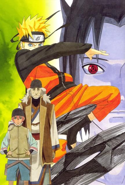 Masashi Kishimoto, Naruto, NARUTO Illustrations, Sasuke Uchiha, Shinnou