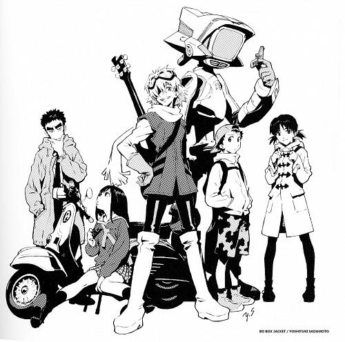Yoshiyuki Sadamoto, Gainax, FLCL, Eri Ninamori, Canti