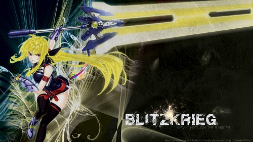 Mahou Senki Lyrical Nanoha Force Wallpaper