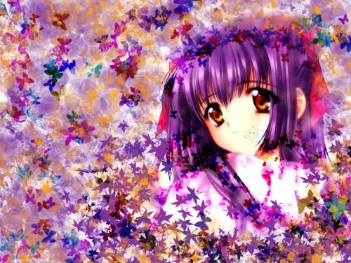 Carnelian, Pink Pineapple, Kao no nai Tsuki, Suzuna Kuraki Wallpaper
