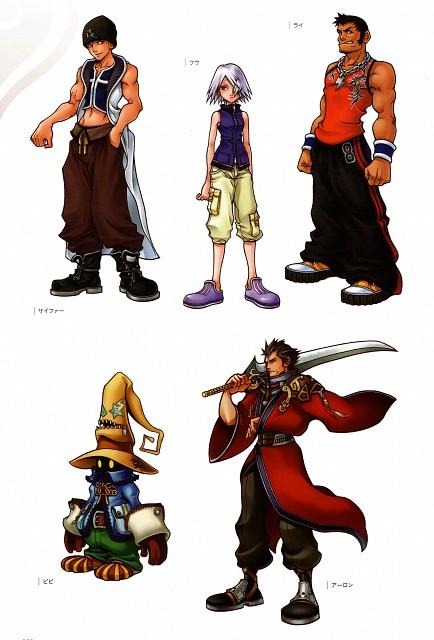 Square Enix, Kingdom Hearts Series Memorial Ultimania, Kingdom Hearts, Vivi Ornitier, Fujin