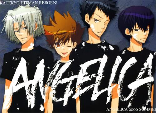 Ringo Momo, Katekyo Hitman Reborn!, Kyoya Hibari, Tsunayoshi Sawada, Takeshi Yamamoto