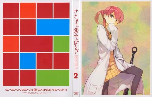 Hidari, Shaft (Studio), Sasami-san@Ganbaranai, Tsurugi Yagami, DVD Cover