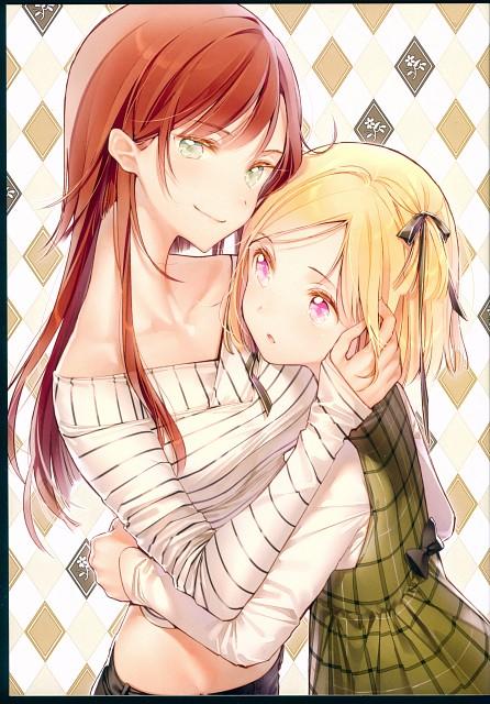 DS Mairu, Rainbow Note, Comic Market 91, Doujinshi
