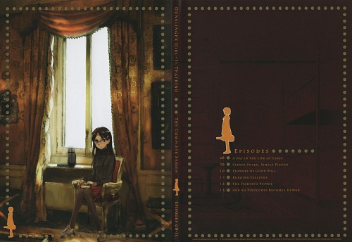 Artland, Gunslinger Girl, Claes, DVD Cover, Places