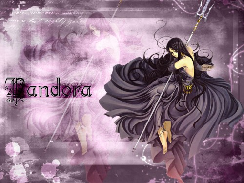 Masami Kurumada, Saint Seiya, Saint Seiya: The Lost Canvas, Pandora Wallpaper