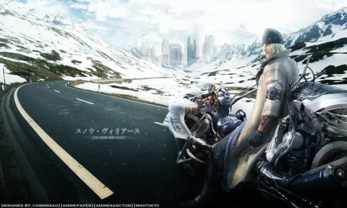 Square Enix, Final Fantasy XIII, Shiva (Final Fantasy), Snow Villiers Wallpaper