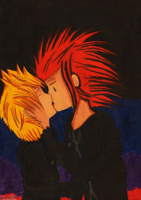 Square Enix, Kingdom Hearts, Axel, Roxas, Member Art