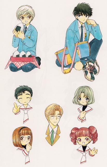 CLAMP, Cardcaptor Sakura, Naoko Yanagisawa, Rika Sasaki, Touya Kinomoto