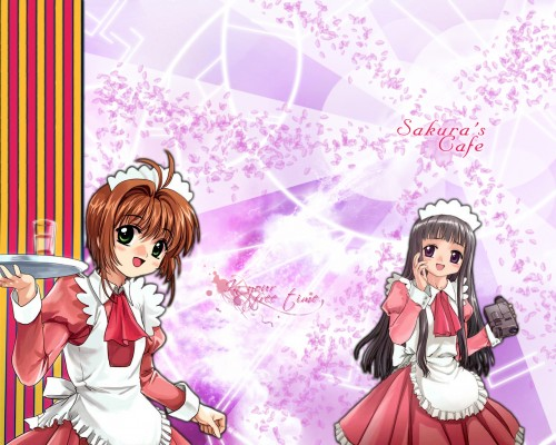 CLAMP, Madhouse, Cardcaptor Sakura, Sakura Kinomoto, Tomoyo Daidouji Wallpaper