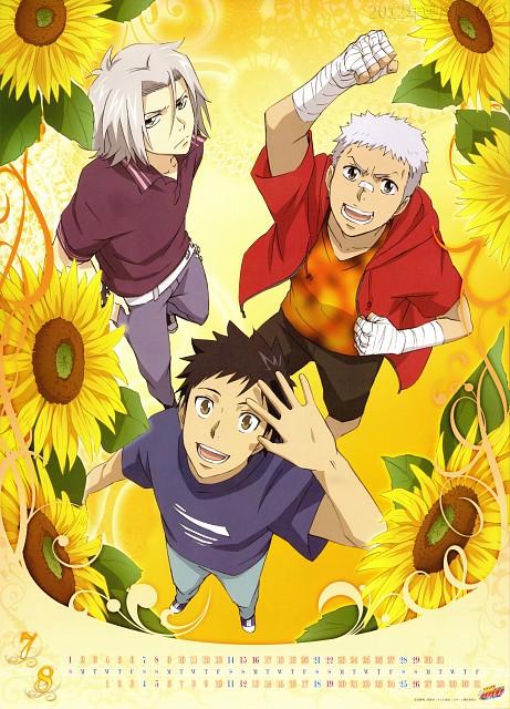 Akira Amano, Artland, Katekyo Hitman Reborn!, Katekyo Hitman Reborn! 2012 Calendar A, Hayato Gokudera