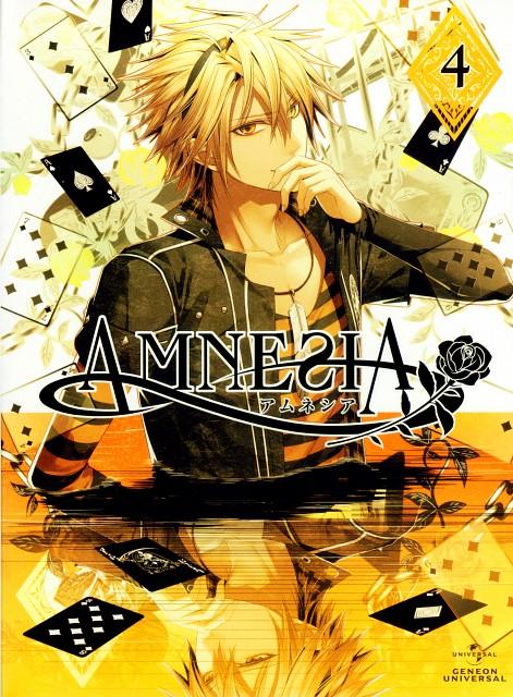 Mai Hanamura, Idea Factory, AMNESIA, Toma (AMNESIA), DVD Cover